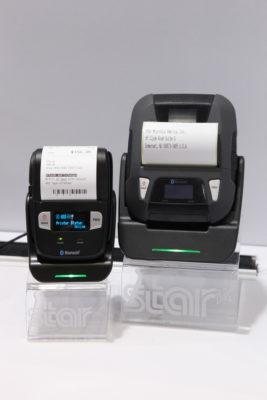 Bild: zwei mobile Drucker; Copyright: iXtenso