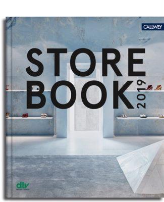 Titelbild des Store Book 2019, der line Flagship-Store in Miami; copyright: dlv – Netzwerk Ladenbau e.V.