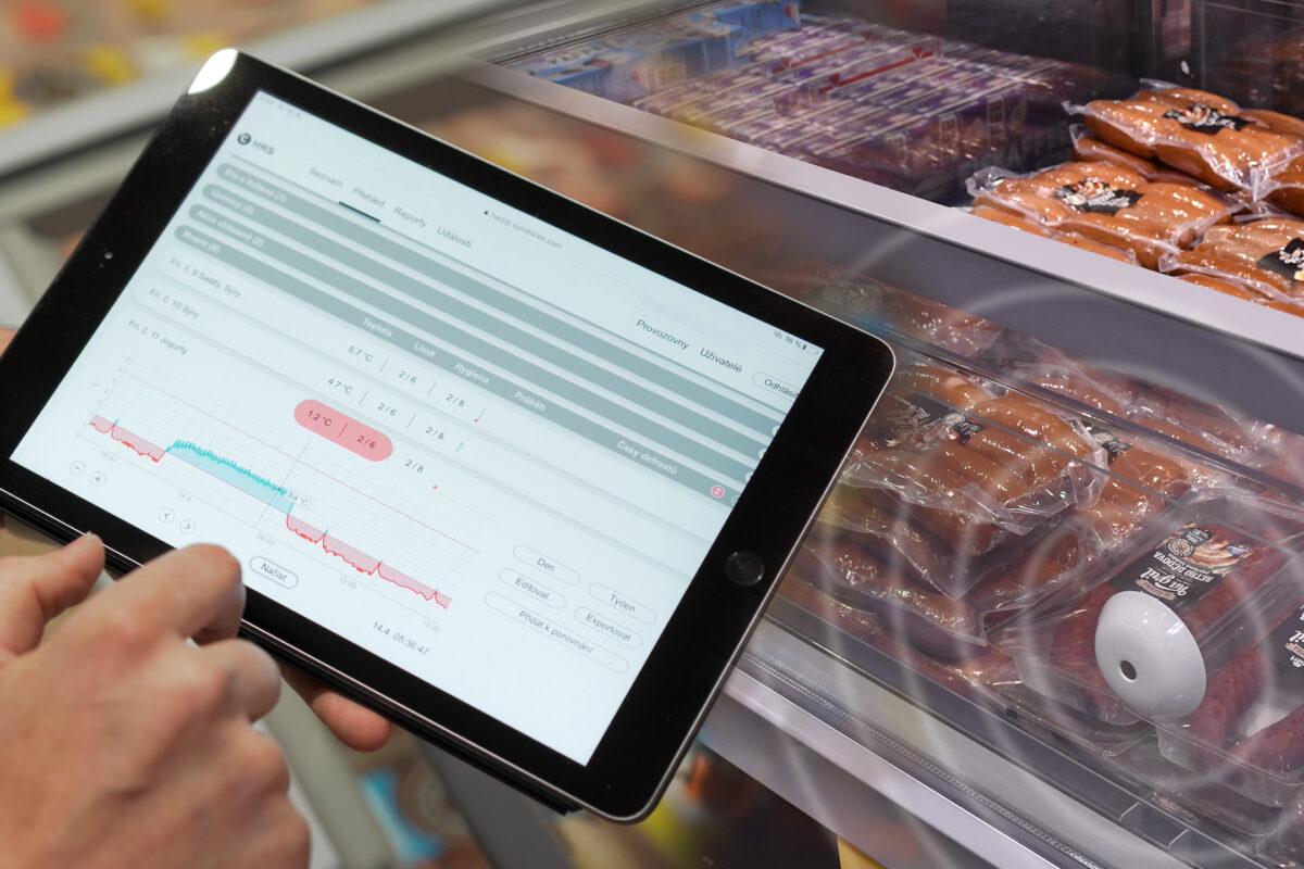 SYNSTORES, eine Revolution der Temperaturmessung im Einzelhandel und in der Gastronomie