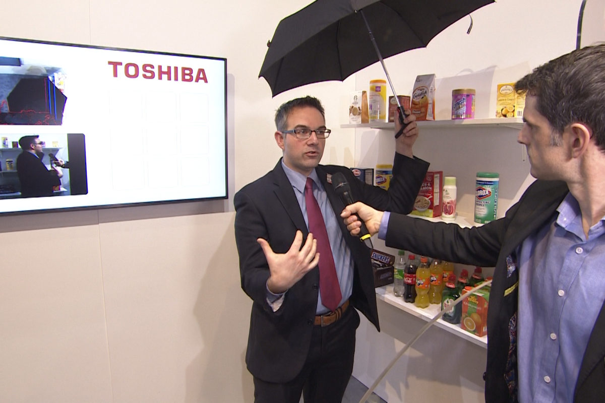 Toshiba: artificial intelligence for frictionless shopping