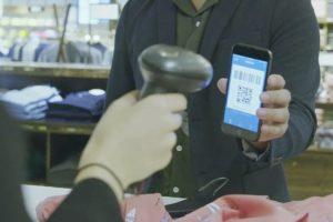 Breuninger in Düsseldorf uses mobile payment app