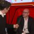 {:de}David Studer im Interview in einer Rikscha; copyright: iXtenso{:}{:en}David Studer being interviewed in a rickshaw; copyright: iXtenso{:}