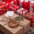 Handgemachte gewickelt Weihnachts-Geschenk-Boxen auf feiern Hintergrund.; copyright: PantherMedia / Waldemar Thaut