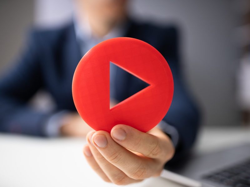 Remote video content management for hybrid working