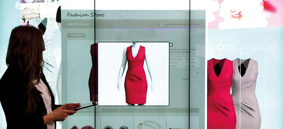 Passend bestellen dank virtueller Kleideranprobe