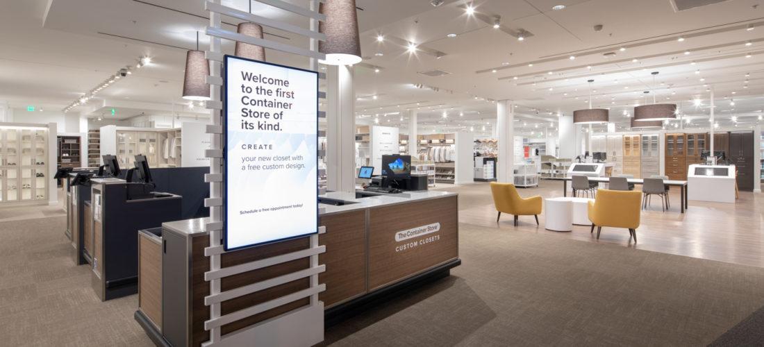 New concept store for custom closets in LA