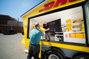DHL opens first-of-its-kind mobile pop-up store