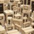 E-Commerce, Internet Online-Shopping und Lieferkonzept. Küchengeräte und Haustechnik in Boxen. 3d Illustration