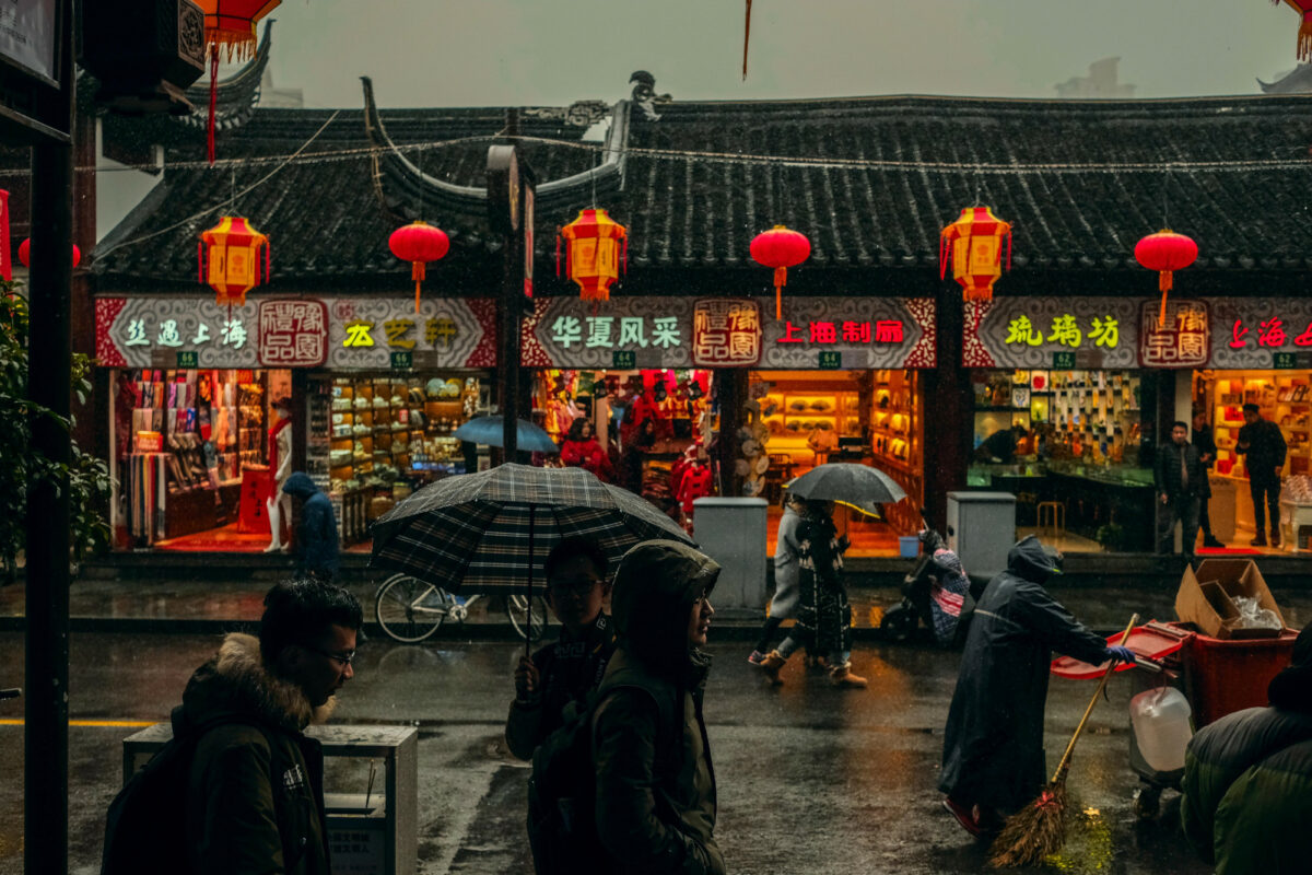What is the state of retail in China?