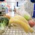 Groceries like bananas and apples lying in a shopping cart; copyright: PantherMedia/Krzysztof Zabłocki