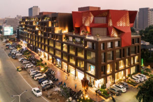 Stellar: retail and office space in Ahmedabad, India