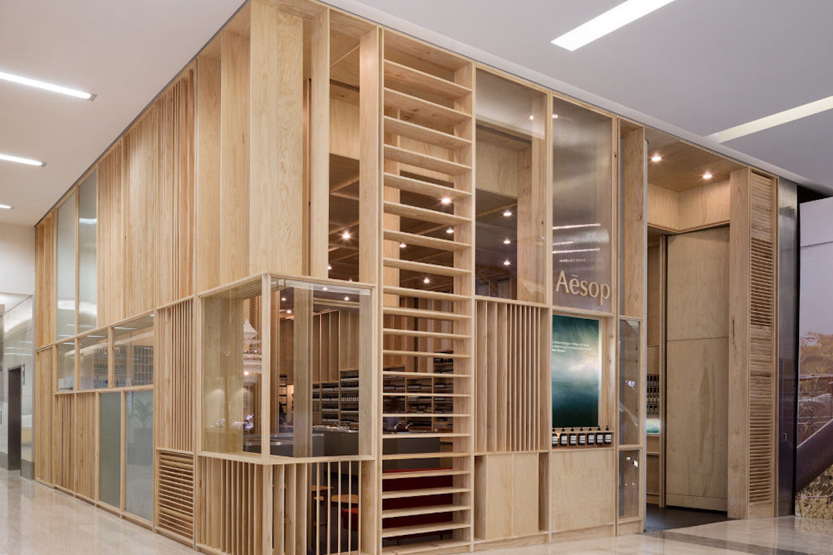 """Sophisticated and informed"" store design: Aesop"