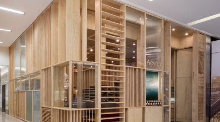 """""""Sophisticated and informed"""" store design: Aesop"""