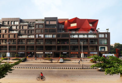 : An office and retail building in India