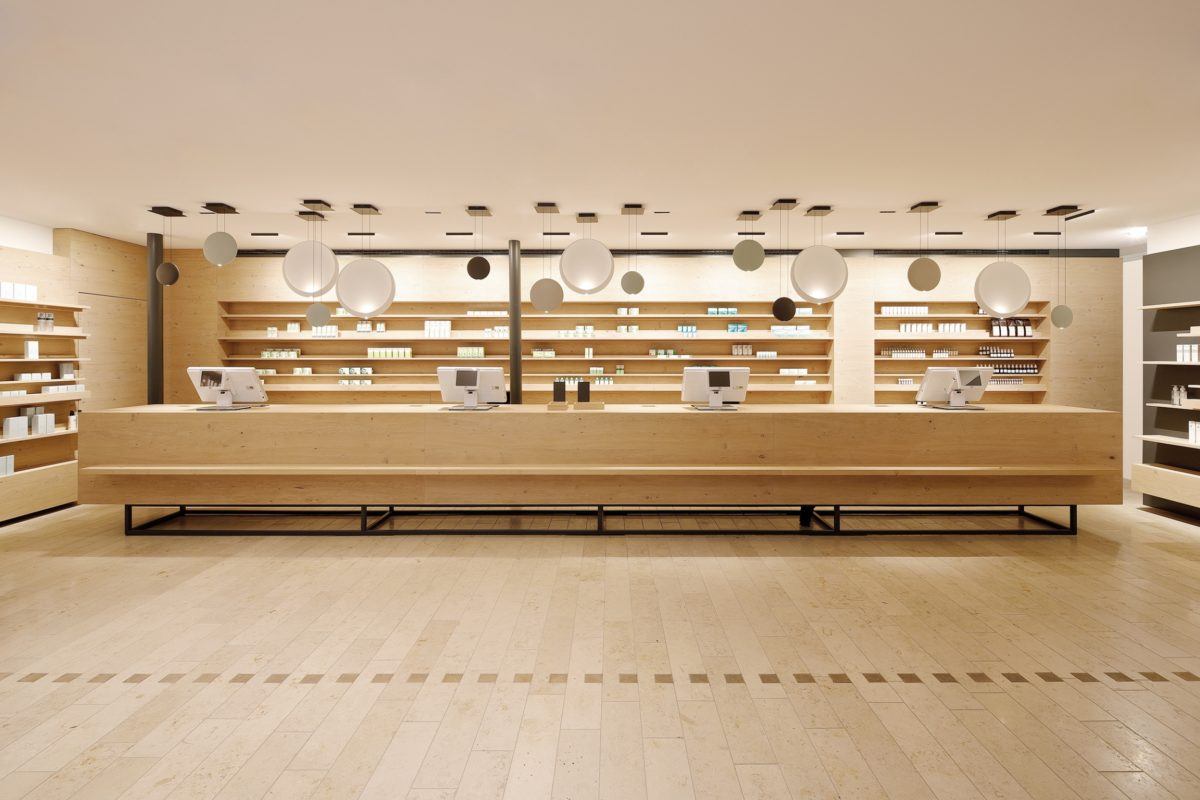 In space: award-winning pharmacy design