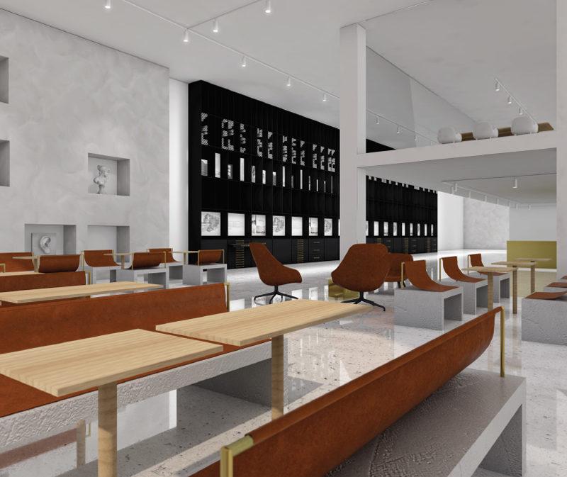 The University College Kristiania, Oslo, Norway, bachelor diploma work, 2017, Student: Martine Bergh, adviser: Vésma K. McQuillan , A new retail typology: Gallery MELK