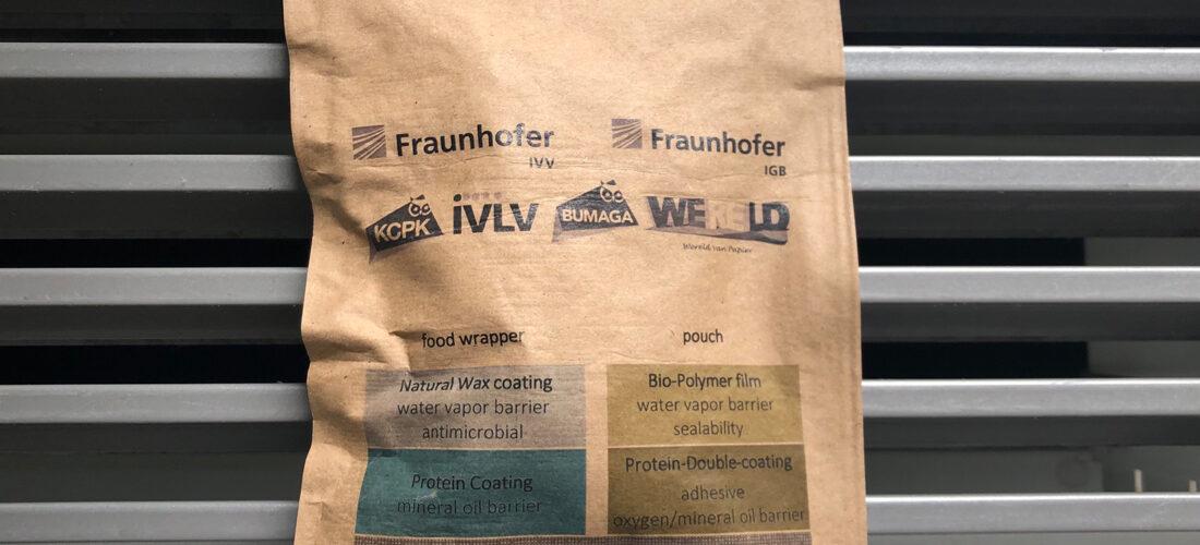Bioaktive Papierbeschichtung ersetzt Kunststoffverpackungen bei Lebensmitteln