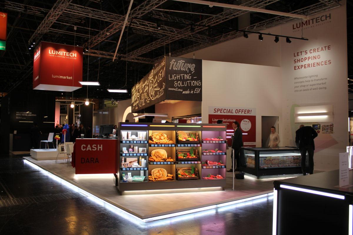 Von unsichtbaren Lichtquellen und dynamischen Beleuchtungslösungen im Store