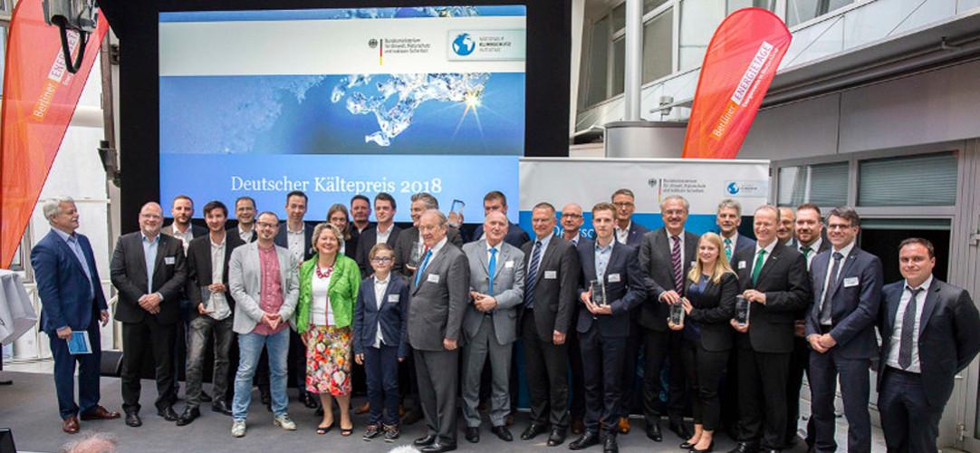 Klimafreundliche Kältetechnik: Deutscher Kältepreis 2018
