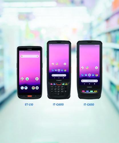 Mobile Geräte mit Tasten und Displays