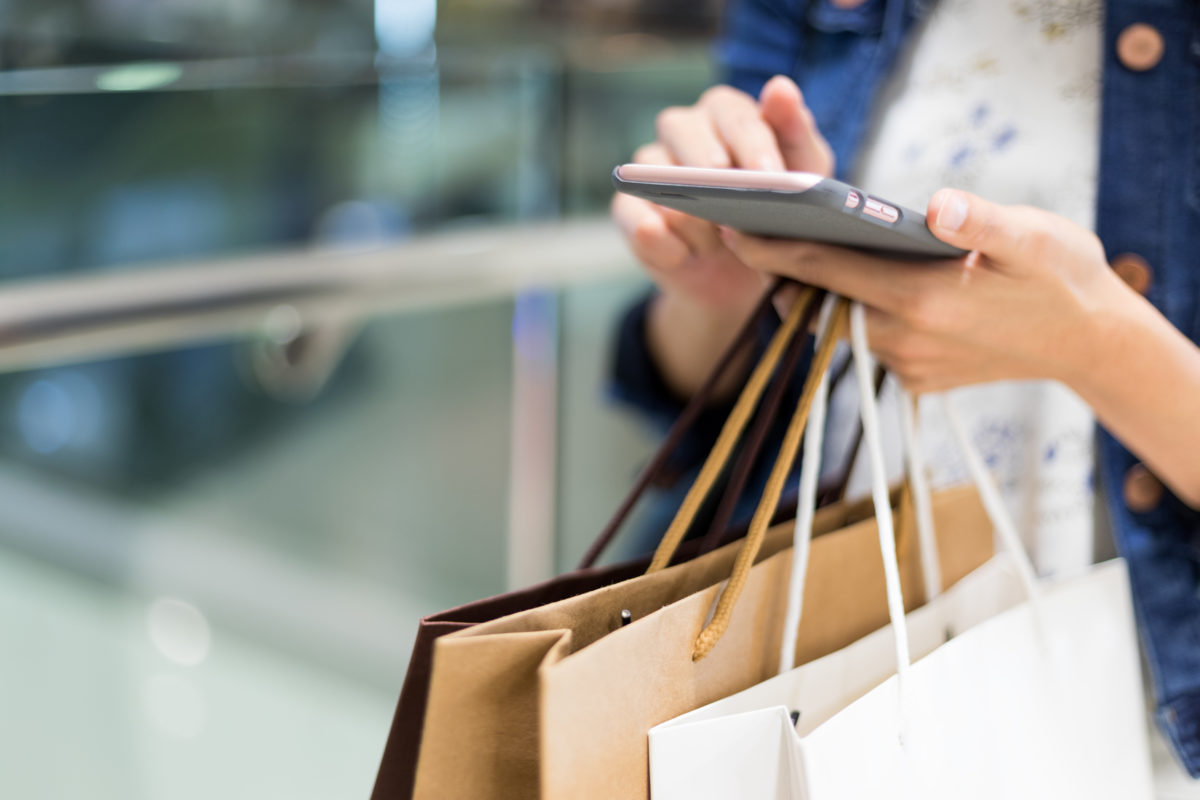 Significant shift away from retail stores to mobile commerce