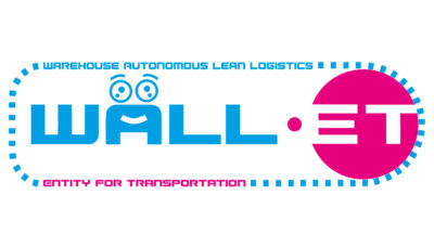 Logobanner des Robotikprojektes WALL-ET; copyright: DFKI Saarbrücken