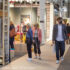 many people look around at a trade fair