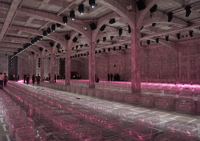 Fashion Spaces: OMA/AMO set for Prada FW2017; © Vésma K. McQuillan