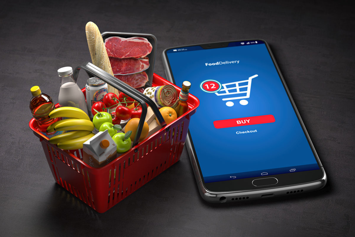 Over half of consumers place an online grocery order once a week