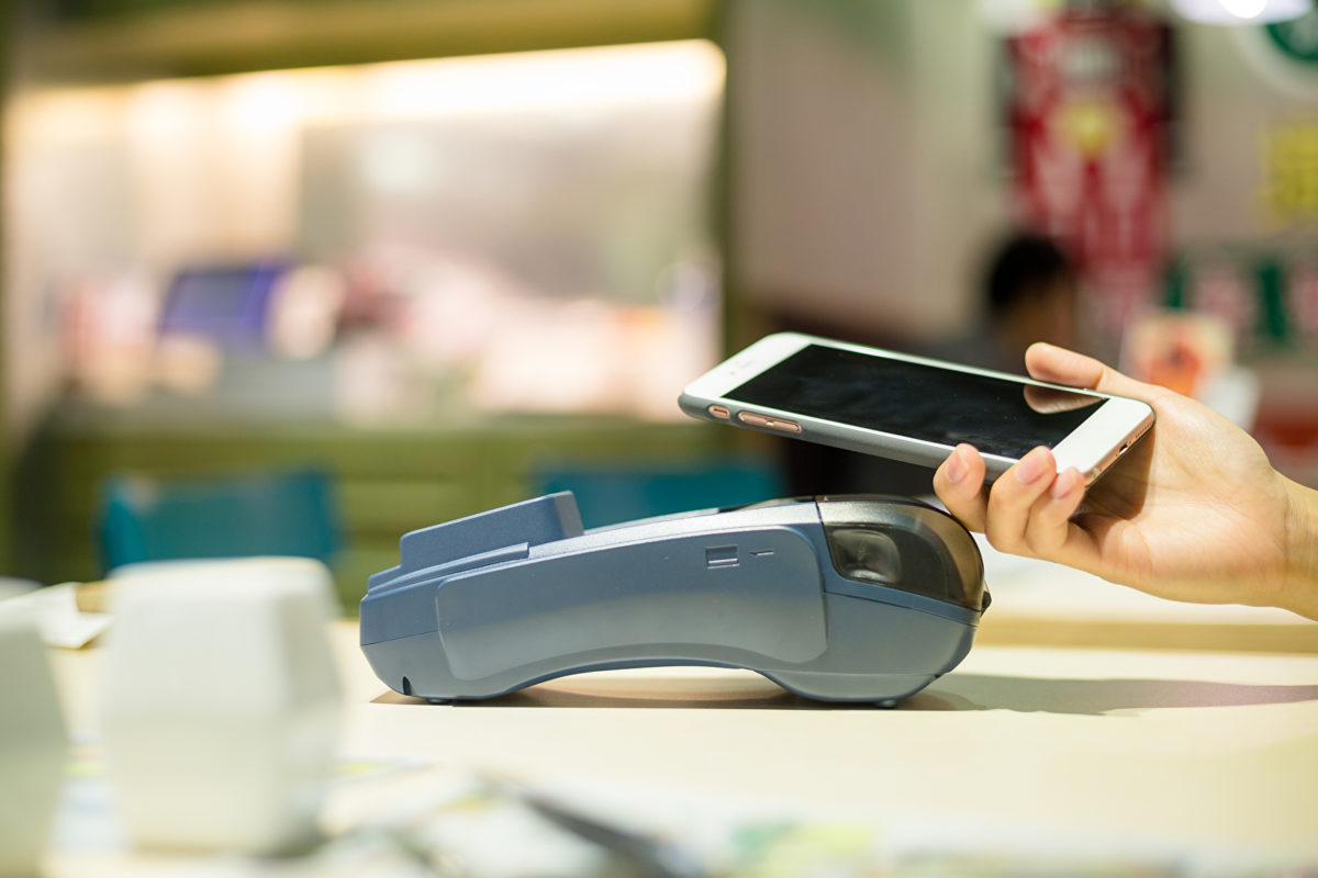 Instore mobile contactless services used by only 14%