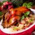 Weihnachtsgans auf dem Teller; copyright: panthermedia.net / Dzinnik Darius