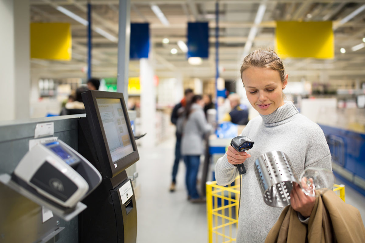 Global self-checkout sales reach new high in 2018