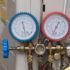 Manometer at an AC unit; copyright: panthermedia.net/geargodz