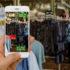 Anwendung von Augmented Reality im Retail-Business-Konzept für ermäßigte oder Verkauf Produkte; copyright: PantherMedia / supparsorn