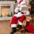 Weihnachtsmann vor Laptop; copyright: PantherMedia / alebloshka