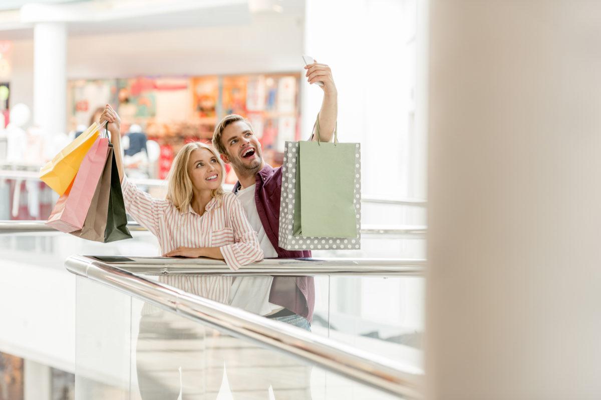 Vier Erlebnisse, die Verbraucher in Läden locken