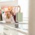 Pärchen beim Einkaufen macht Selfie; copyright: panthermedia.net / VitalikRadko