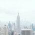 Panoramablick auf New Yorks Skyline