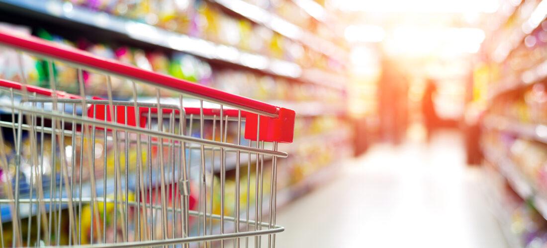 Lebensmitteleinzelhandel: Mehr Umsatz bei geringerer Fläche