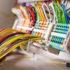 Viele bunte Drähte, die zusammenlaufen; copyright: panthermedia.net/edfoto