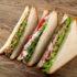 Drei dreieckige Sandwiches; copyright: panthermedia.net / Wiktory