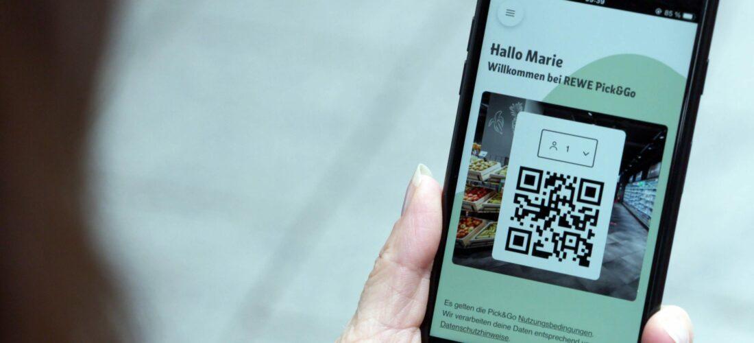 REWE testet neue Wege des Lebensmitteleinkaufs