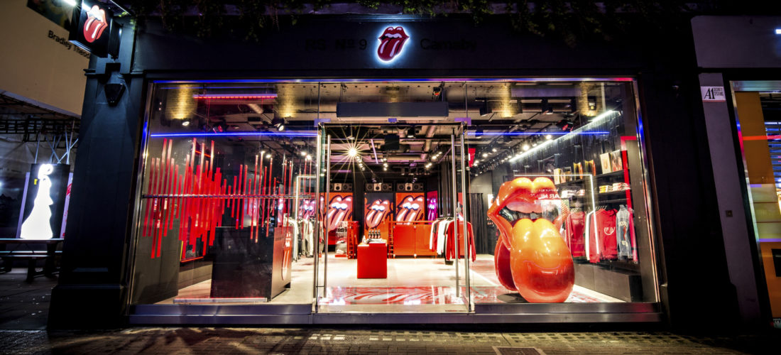 The Rolling Stones open 'world exclusive' flagship store in London