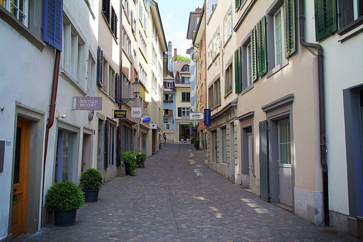 Shopping around the world – Zürich