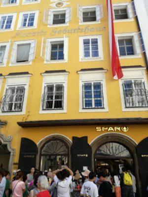 Spar, Supermarkt, Mozart, Salzburg