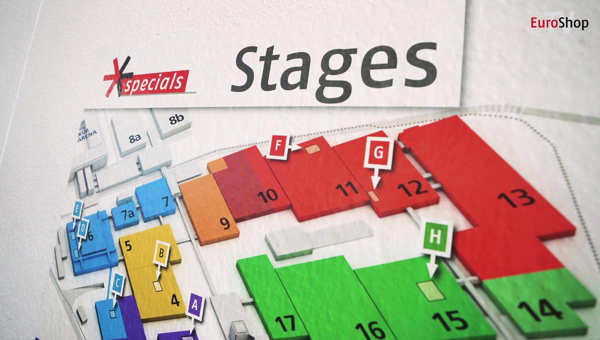 Die 8 Stages der EuroShop: geballtes Fachwissen