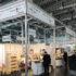 Gemeinschaftsstand für junge innovative Unternehmen auf einer Messe; AUMA