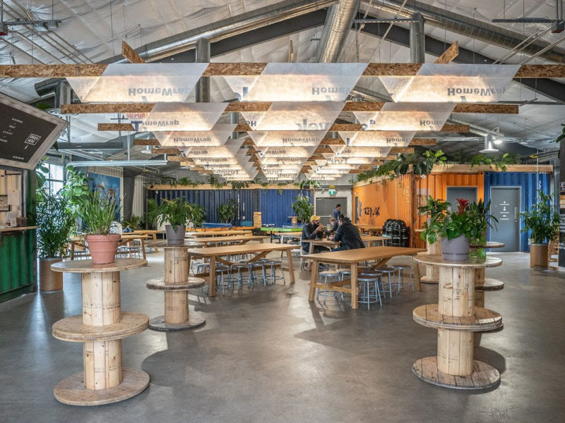 Making a lasting impression in a temporary space