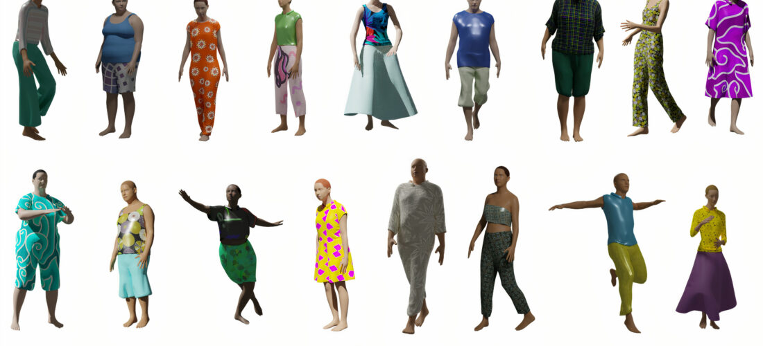 The fitting rooms of the future: CLOTH3D