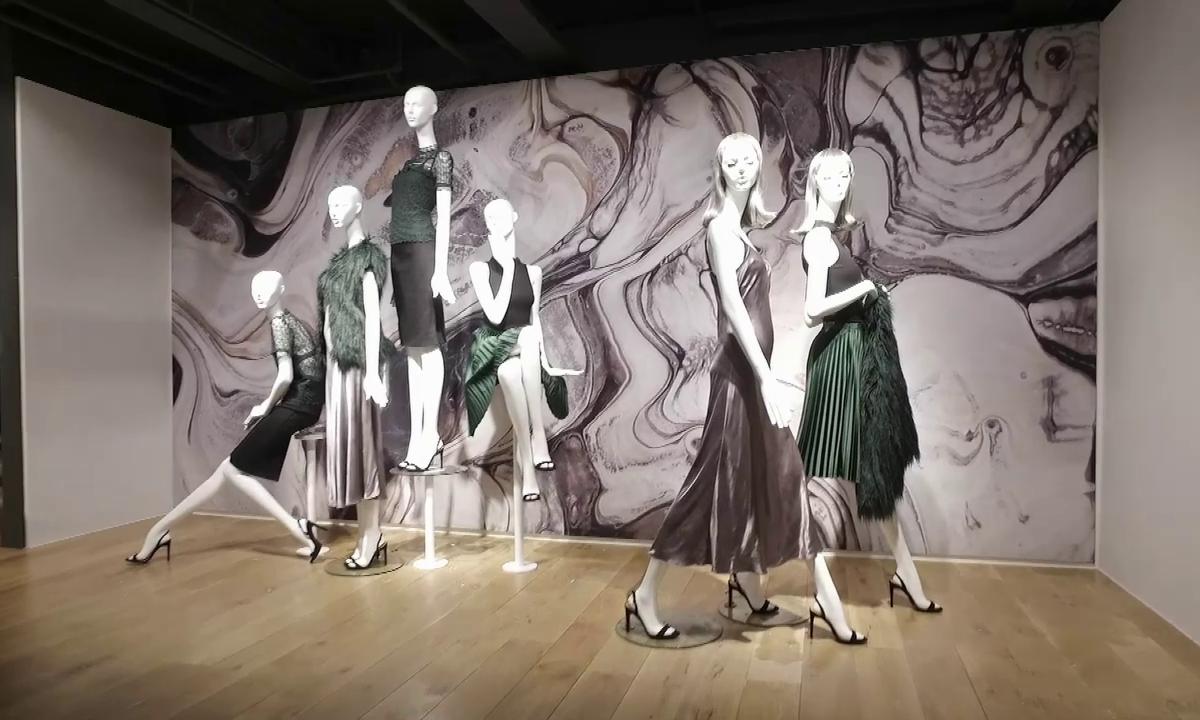 Werbeträger im Modeeinzelhandel: Mannequins